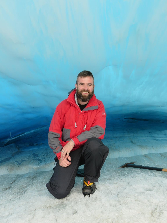 ice cave   fox glacier